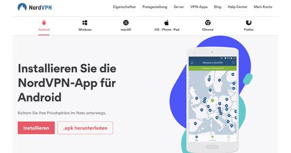 NordVPN für Android