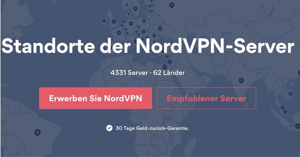 Servers NordVPN