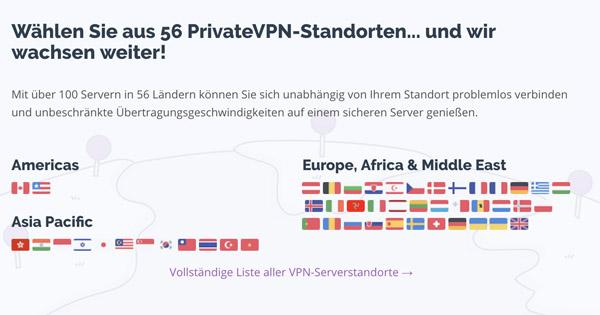 PrivateVPN Bewertung