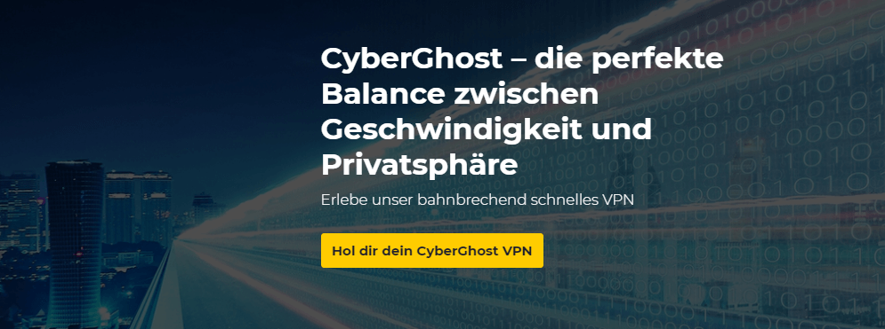 CyberGhost_Geschwindigkeit