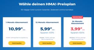 HideMyAss_Preise