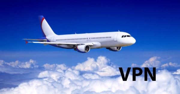VPN Flugzeug