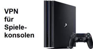VPN Spielkonsole