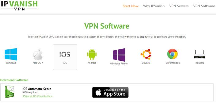 IPVanish mobil