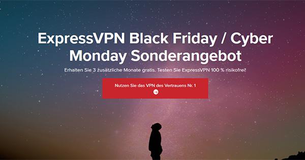 ExpressVPN Cyber Monday