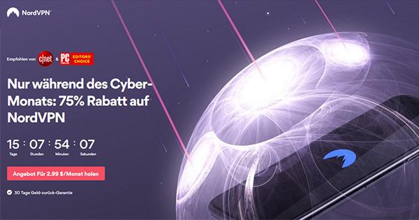 NordVPN Cyber Monday