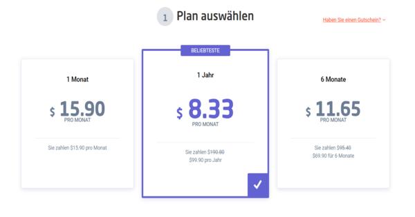 Astrill VPN Preise