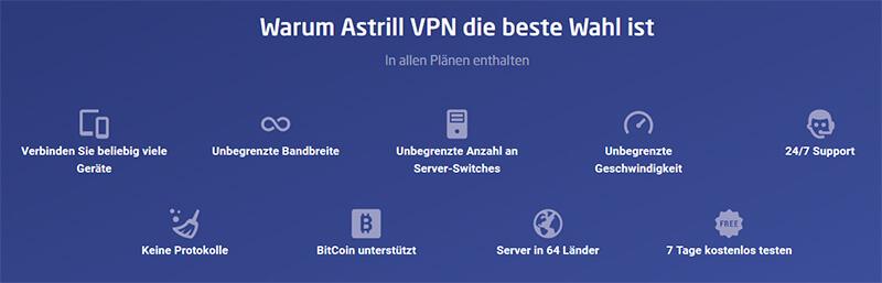 Zusammenfassung Astrill VPN