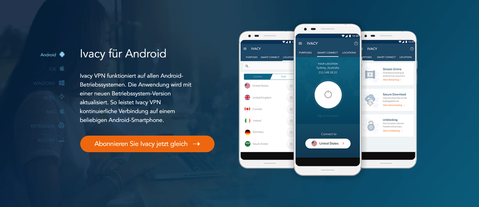 Android_Ivacy VPN