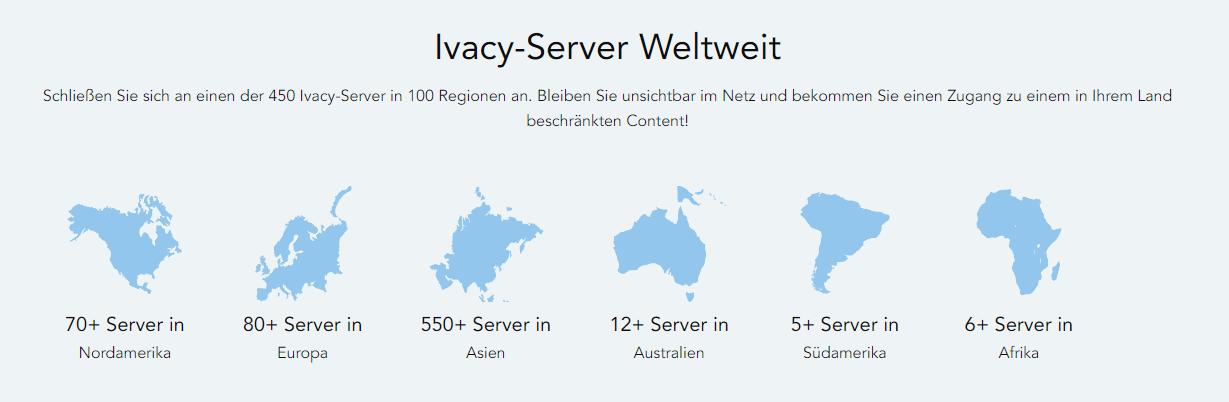 Ivacy VPN_Server