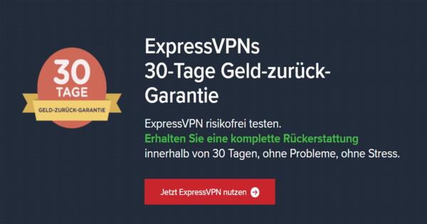 Testphase_ExpressVPN