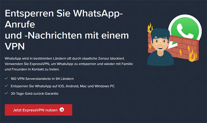 WhatsApp ExpressVPN