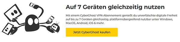 Geräten CyberGhost