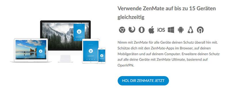 ZenMate Geräten