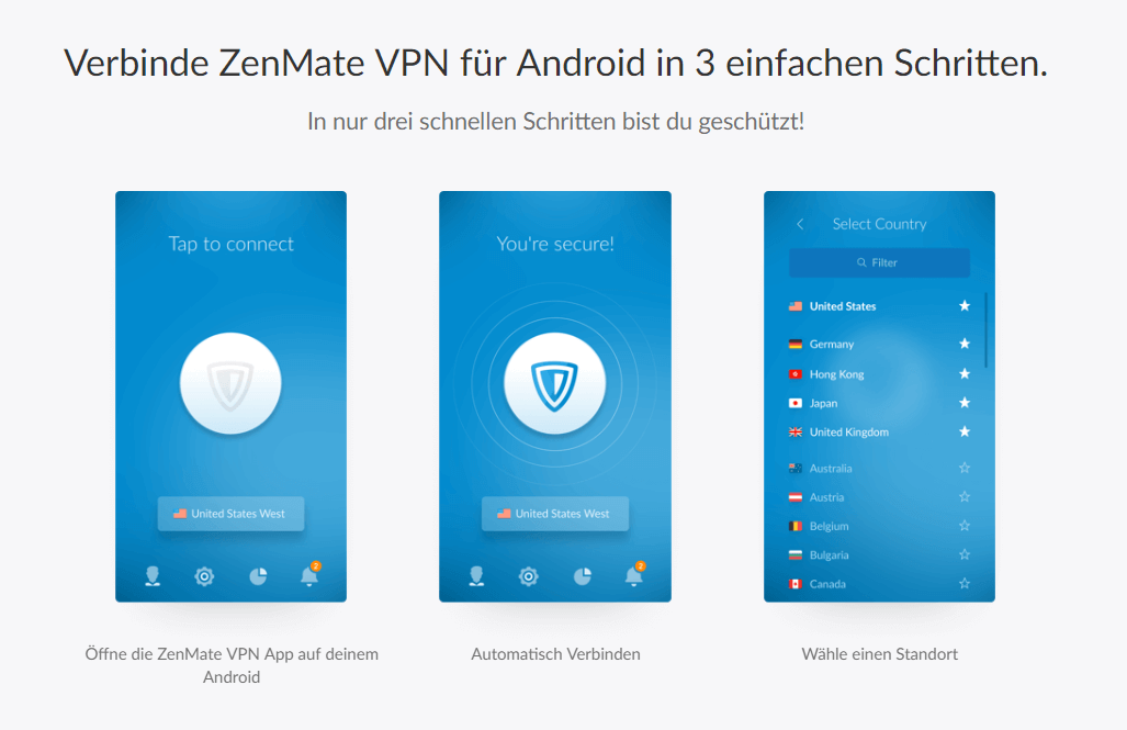 Zenmate-Android