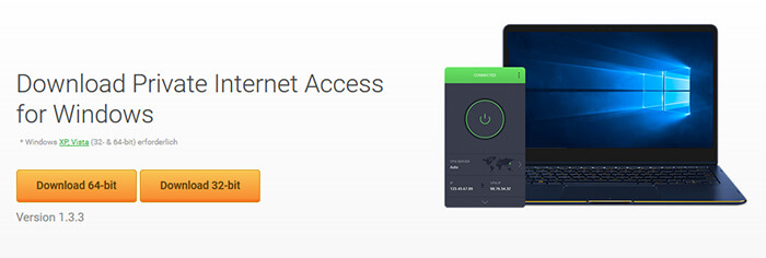 Private Internet Access app