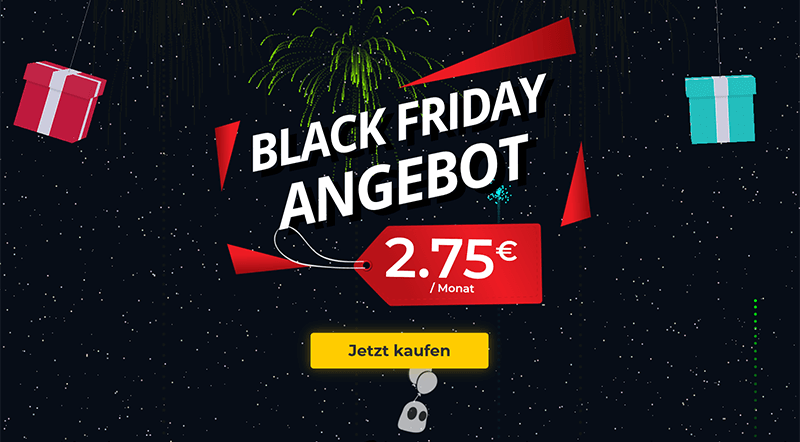 CyberGhost Black Friday DE