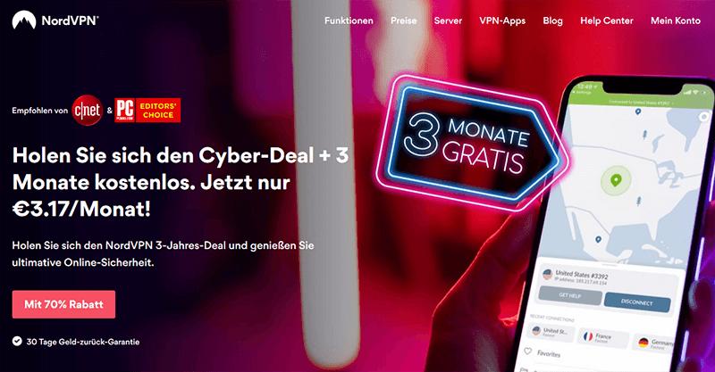 NordVPN Cyber Month DE